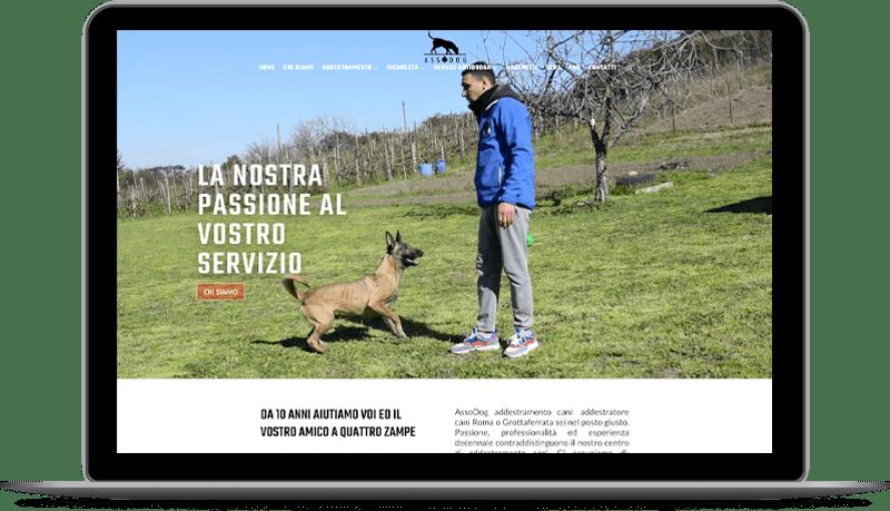 comunicazione online asso dog addestramento cani addestratore cani roma grottaferrata