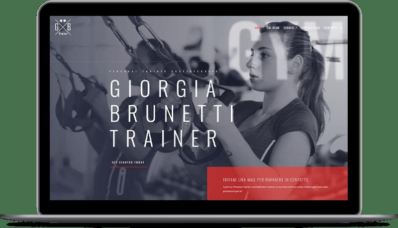 Giorgia Brunetti Trainer Personal trainer a Grottaferrata